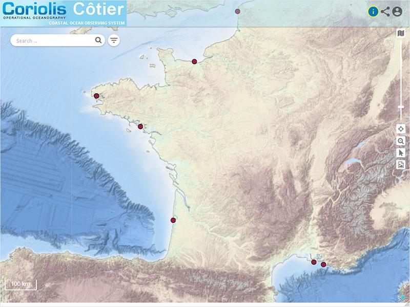 Coriolis Côtier